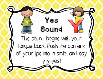 Sound Sorts: Beginning Sounds Set Twelve: Yes Words Y