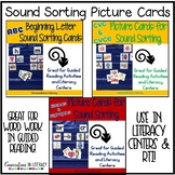 Picture Cards for Guided Reading Literacy Centers Word Wor