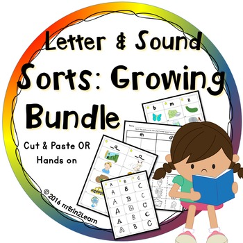 Letter and Sound Sorts Picture Sorts BUNDLE
