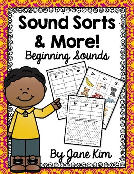 Sound Sorts and More-Beginning Sounds