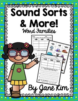 Sound Sorts and More-Word Families