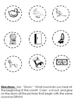 Sound Sorts for strengthening a child's phonemic awareness