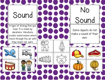Sound: Sound or No Sound: A Science Unit