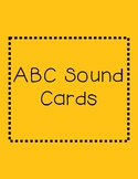 Sound Spelling Alphabet Cards