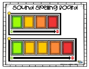 Sound Spelling Boards