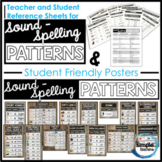 Sound-Spelling Pattern Posters and Reference Sheets
