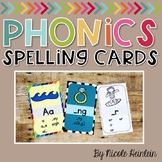 Rainbow Sound Spelling Phonics Cards