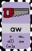 Rainbow Sound Spelling Phonics Cards