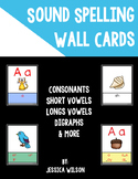 Sound Spelling Wall Cards