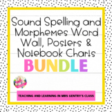 Sound Spelling and Morphemes Bulletin Board and Notebook C