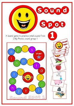 Sound Spot 1 - Initial Sounds Game