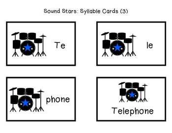 Sound Stars: Syllable Remix