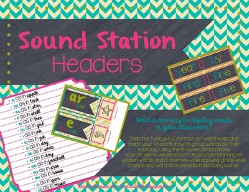 Sound Station (Headers & Word Cards)