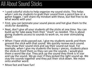 Sound Sticks