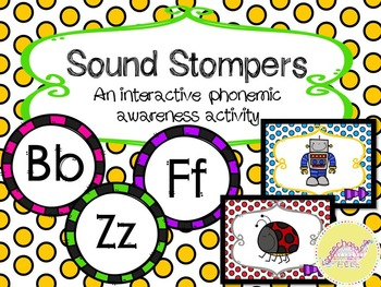 Sound Stompers: An Interactive Phonemic Awareness Activity