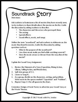 Soundtrack Story Lesson