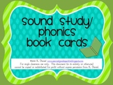 Sound Study/Phonics Cards for Sound Study Book (Letters, S
