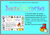 Sound Surprises -Beginning letter sounds - board game