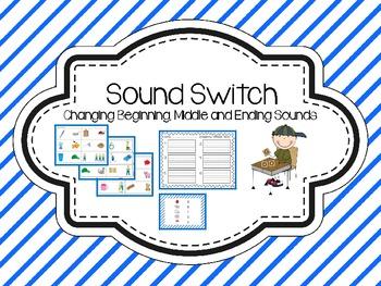 Sound Switch {Word Work}