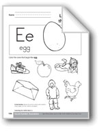 Sound-Symbol Association: Initial Short e