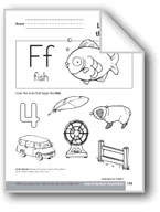 Sound-Symbol Association: Initial f
