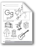 Sound-Symbol Association: Initial g