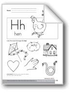 Sound-Symbol Association: Initial h