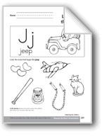 Sound-Symbol Association: Initial j