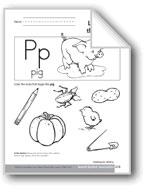 Sound-Symbol Association: Initial p