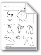 Sound-Symbol Association: Initial s