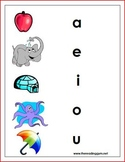 Sound Symbol pictures for vowels