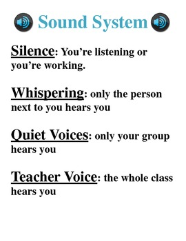 Sound System - Volume Control in the Classroom