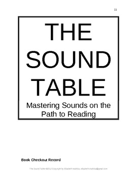 Montessori Sound Table Procedure Start-Up