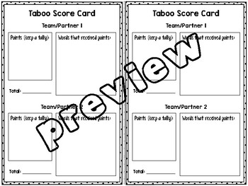 Sound Vocabulary Review Game