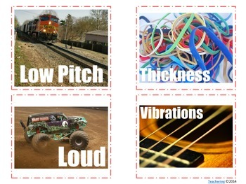 Sound Task Cards with PHOTOS