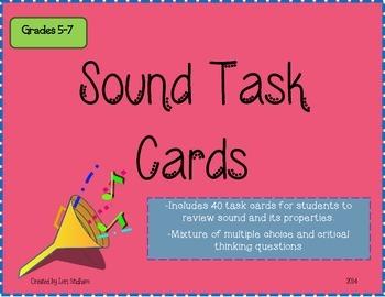 Sound Task Cards