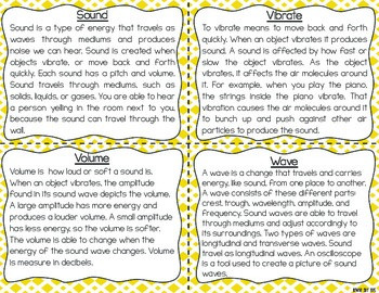 Sound Task Cards for Fluency and Comprehension