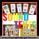 Sound Tents and Blending Board