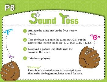 Sound Toss Initial Consonants - Set 1 (Common Core RF K.3a)