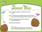 Sound Toss Initial Consonants - Set 2 (Common Core RF K.3a)