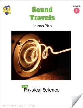 Sound Travels Lesson Plan