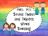 Sound Twins and Triplet Word Sorting