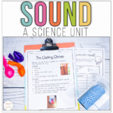 Sound Energy Worksheet and Activities