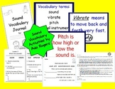 Sound Vocabulary Activities