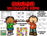 Sound Vocabulary Game and Review