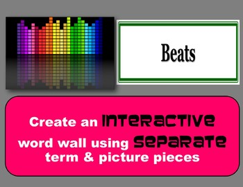 Sound Vocabulary Interactive Word Wall