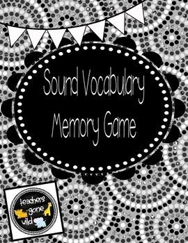 Sound Vocabulary Memory Game