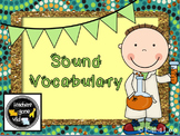 Sound Vocabulary PowerPoint & Foldable