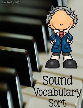 Sound Vocabulary Sort