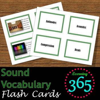Sound Vocabulary Unit Bundle